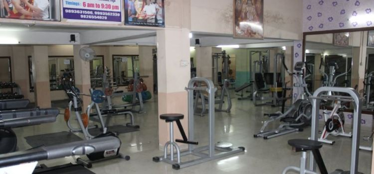 Spartan unisex gym & fitness center nanda nagar indore fees
